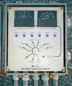 Qualitrol Electronic Temperature Monitor For High Voltage Transformers