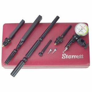 Starrett Last Word Dial Test Indicator Set model 711gcsz Dial Reading 0 15 0