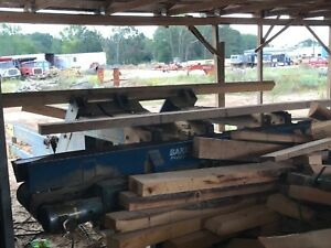 Baker Chop Saw And 6 Head Resaw sawmill pallet