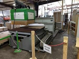 Biesse Rover 30 S2 Cnc Router woodworking