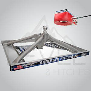 Lowered Ultimate Connection 2 Gooseneck Hitch For Flatbeds Anderson Hitches