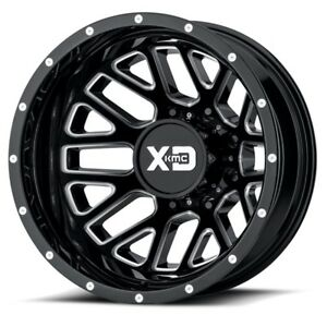 17 Inch Black Wheels Rims Dodge Ram 3500 Dually New Xd Series Grenade 8x6 5 Lug