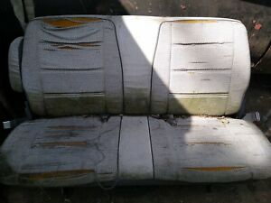 1986 Chevy Astro Van Bench Seat 2nd 3rd Row Pick Up Only