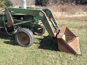 John Deere Loader Only W 60 Bucket No Reserve Tractor Is Not Included
