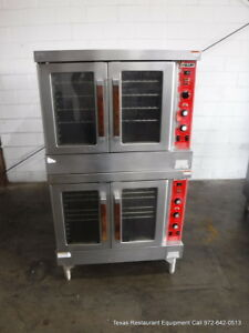 Vulcan Sg4d Gas Double Stack Full Size Convection Oven