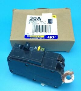New Circuit Breaker Square D Qo230gfi Gfci Protection 2 Pole 30 Amp 120 240v