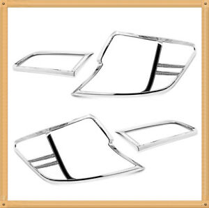 Chrome Tail Light Covers For 2012 2014 Toyota Camry