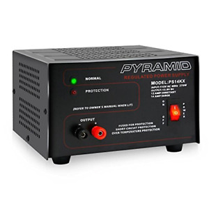 Universal Compact Bench Power Supply 12 Amp Linear Regulated Home Lab Benchtop