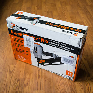 new Paslode F 350p Powermaster Pro 30 Framing Nailer 515000