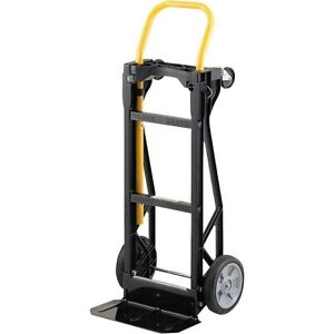 Convertible Hand Truck Cart Dolly Folding Wheels Moving Utility Carrier Tools