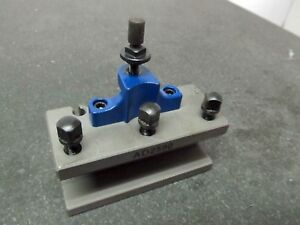 1 Tool Holder 40 Position Multifix a1 a Lathe Quick Change Tool Post Ad2590