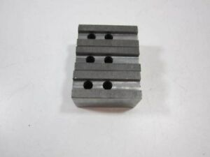 Lot Of 3 Atlas Workholding 8140 21525 Soft Top Jaws For Lathe Chuck New