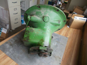 Vintage John Deere Unstyled L Tractor L191d Complete Clutch Housing With Fork