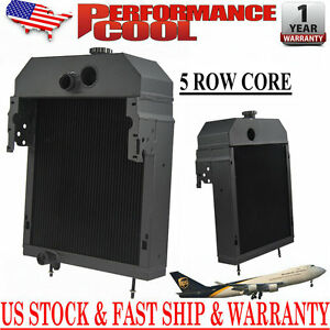 361704r93 Aluminum Radiator Fits 300 350 Case International Farmall Pc