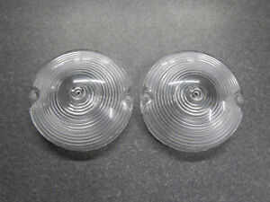 1965 Buick Lesabre Wildcat Electra 225 Turn Signal Lenses 65 Parking Light Lens