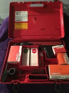 Hilti Dx36m Semi Automatic Includes 100 Red 100 Yellow Charges