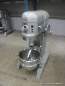 Hobart H 600t Pizza Donut Pizza Dough Mixer 60 Qt W Bowl Paddle