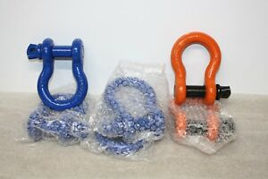 6 New Shackle Rigging Clevis Wll 6 1 2 Ton 7 8 Equipment Rigging