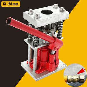2 Tons Manual Benchtop Hydraulic Bottle Jack Hose Hydraulic Hose Crimper 2t