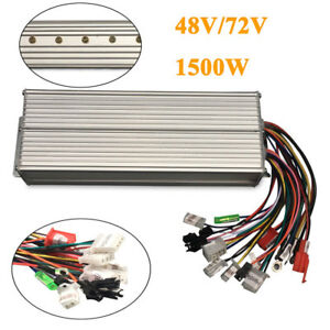 48 72v1500w Electric Bicycle Brushless Motor Speed Controller For Scooter