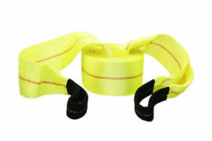 Abn Tow Rope Strap 30 Feet X 4 Inch 20 000 Pound Heavy Duty Towing Nylon