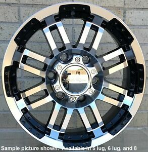 4 New 18 Wheels Rim For Ford Mainline Mustang Thunderbird Vintage Sedan 4215