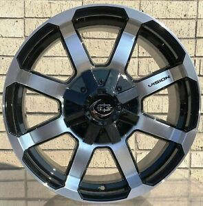 4 New 18 Wheels Rims For Avalanche Express Van 1500 Astro Van Colorado 624