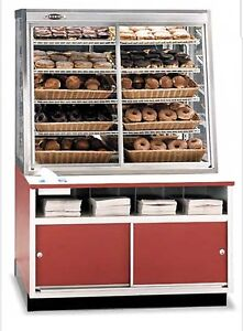 Federal Wdc 42 Self serve Display Case Cabinet Bakery Concessions Food Service