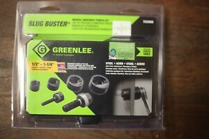 Greenlee 7235bb Slug buster Manual Knockout Kit For 1 2 To 1 1 4 New