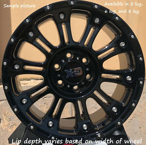 4 New 22 Wheels Rims For Ford F 350 2005 2006 2007 2008 2009 Super Duty 1180
