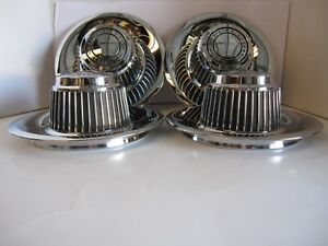 4 Chevrolet Derby Center Caps Corvette Rally Wheels 14 15 Gm Licensed Metal