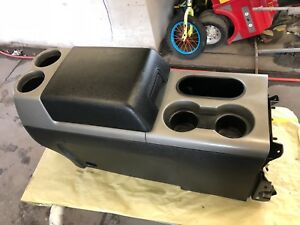 2004 2008 Ford F 150 Black Gray Floor Shift Center Console Rear Vents Oem 05 0