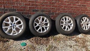 Jeep Cherokee Renegade 17 Factory Oe Oem Wheels Tires 5x110 2014 2018 Only