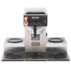 Bunn Crtf5 35 Automatic Commercial Coffee Brewer With 5 Warmers