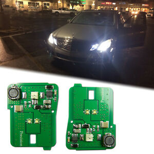 Hid White Led Parking Position Light For 2010 2013 Mercedes Benz E Class Pre Lci