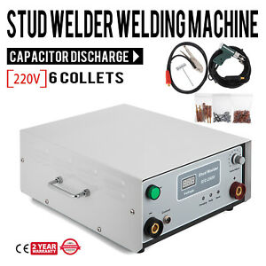 220v Stc 2500 Capacitor Discharge Cd Stud Welder Spot Welding Machine