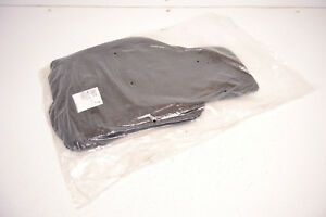 Vw Gti Golf R Black Floor Mats Carpets Rabbit R32 Mk5 Mk6 Genuine Oem 2006 2014