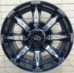 4 New 17 Wheels Rims For Avalanche Express Van 1500 Astro Van Colorado 645