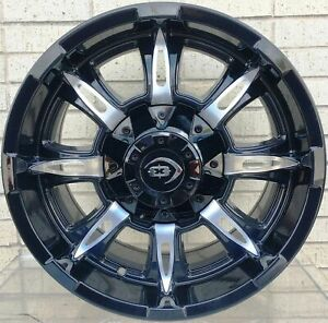 4 New 18 Wheels Rims For Avalanche Express Van 1500 Astro Van Colorado 666