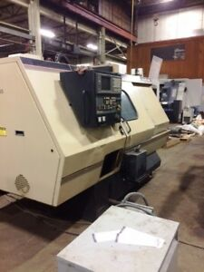 Monarch Predator Cnc Lathe With Live Tooling And Tailstock Fanuc 18t Control