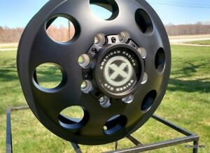 4 16x6 American Racing Chevy Gmc G Or Ford E Motorhome Dually Wheels W Lugs
