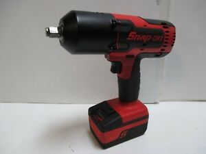 Snap on Ct8850 18 volt 1 2 impact Wrench W 1 Battery No Charger Nice