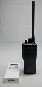 Kenwood Tk290 Tk 290 Vhf 136 174 160ch 5 Watt Radio W antenna Field Programmable