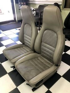 Porsche 944 911 924s Tan Power Bucket Seats With Switches