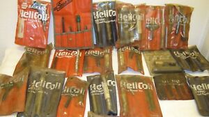 Helicoil Thread Repair Kits Sae Metric Lot