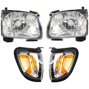 Headlight Kit For 2001 2004 Toyota Tacoma Left And Right Code 209 4pc