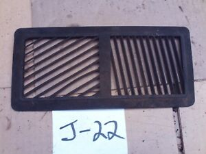 1969 1970 1972 Chevelle Malibu Cutlass Package Tray Heater Defrost Vent Grille