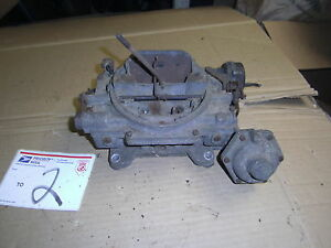 1958 1963 1964 Ford Fe Mercury Oem Carter Carburetor Carb Edc 9603 c 332 352 390