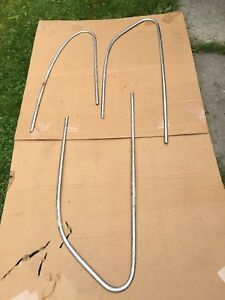 1948 Pontiac Silver Streak Door Trim Molding Exterior Window Surround Escutcheon