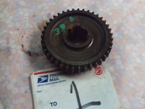 Borg Warner Super T10 Gear 39 Tooth 4 Speed Manual Transmission Used Reverse Oem